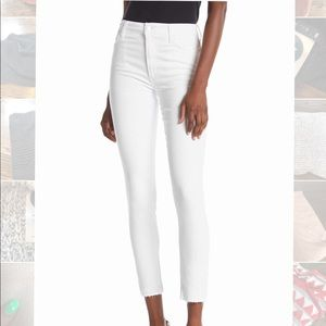 Joes jeans Charlie white skinny ankle jeans